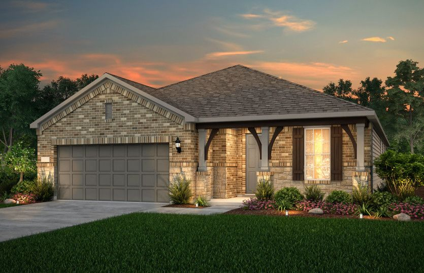 Exterior featured in the Mainstay By Pulte Homes in Austin, TX