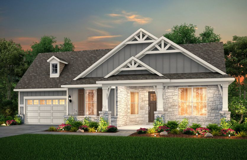 Exterior featured in the Reverence By Pulte Homes in Austin, TX