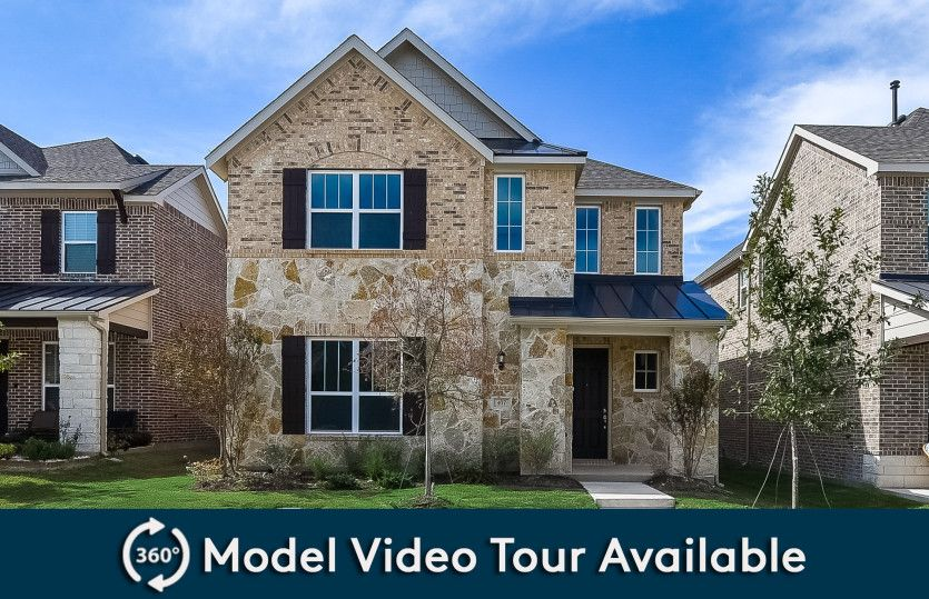 Exterior featured in the Highwater By Pulte Homes in Dallas, TX