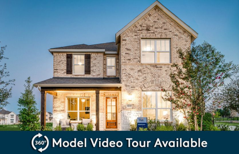 Exterior featured in the Courtyard By Pulte Homes in Dallas, TX