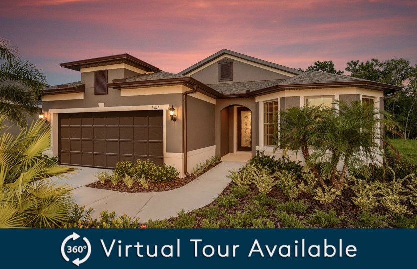 Exterior featured in the Summerwood By Pulte Homes in Tampa-St. Petersburg, FL