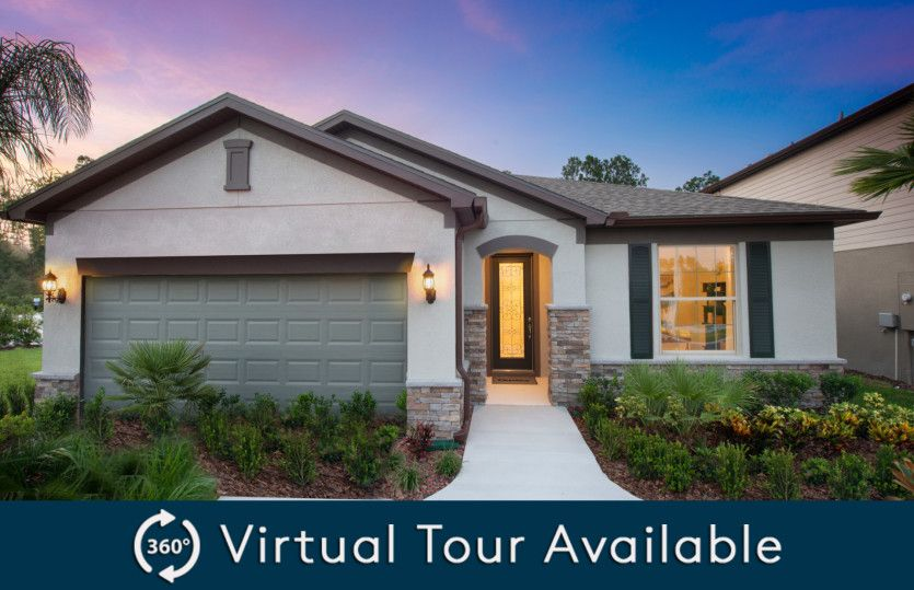 Exterior featured in the Oasis By Pulte Homes in Tampa-St. Petersburg, FL