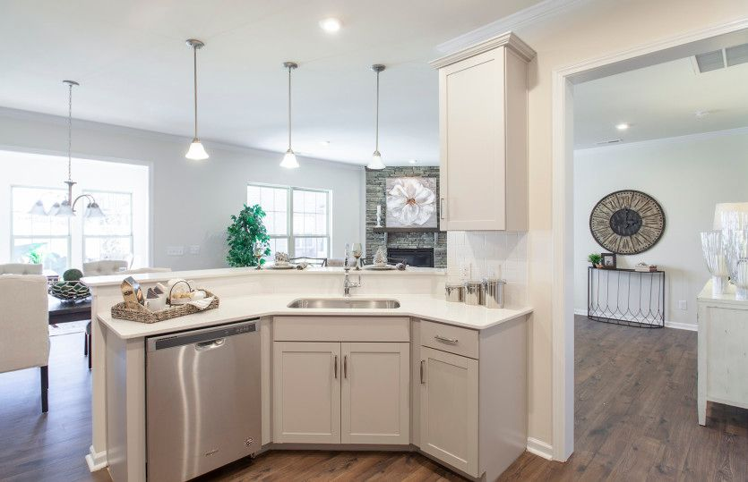 Kitchen featured in the Palomino By Pulte Homes in Charlotte, NC
