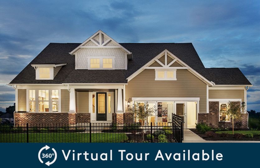 Exterior featured in the Bourges By Pulte Homes in Indianapolis, IN