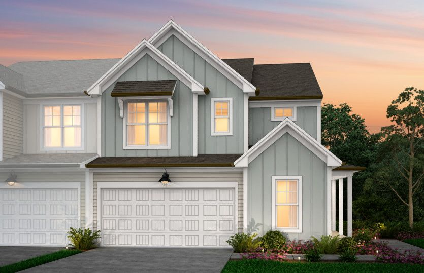 Exterior featured in the Stetson By Pulte Homes in Raleigh-Durham-Chapel Hill, NC