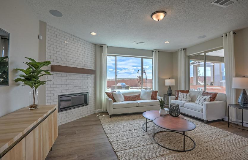Living Area featured in the Fifth Avenue By Pulte Homes in Albuquerque, NM
