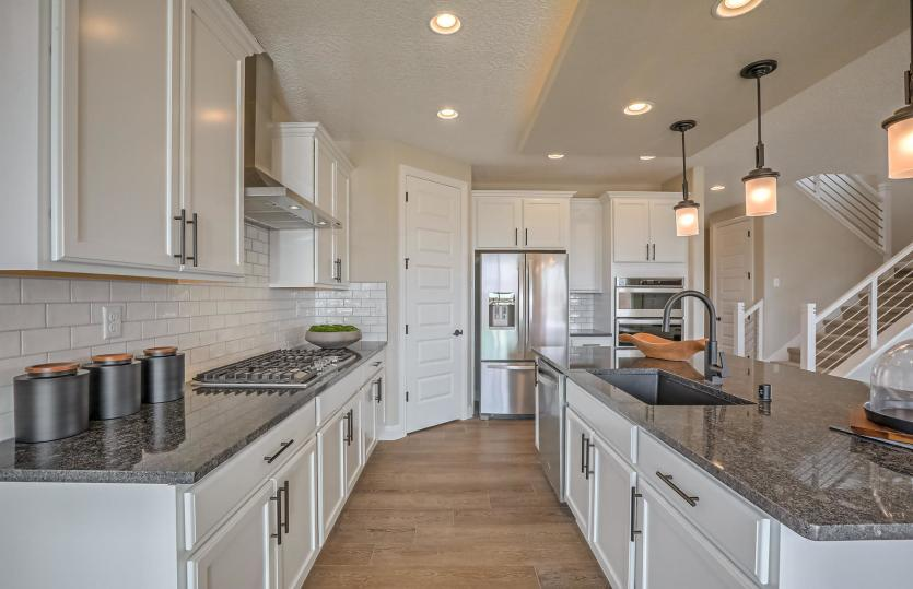 Kitchen featured in the Fifth Avenue By Pulte Homes in Albuquerque, NM
