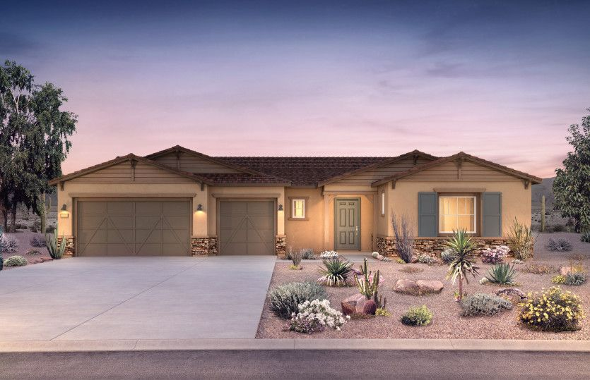 Exterior featured in the Virtue By Pulte Homes in Tucson, AZ