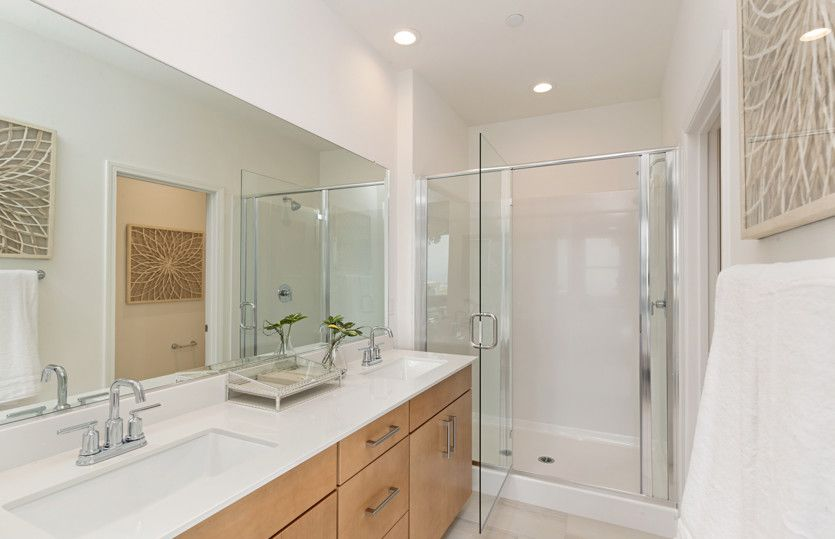 Bathroom featured in the Residence One By Pulte Homes in Orange County, CA