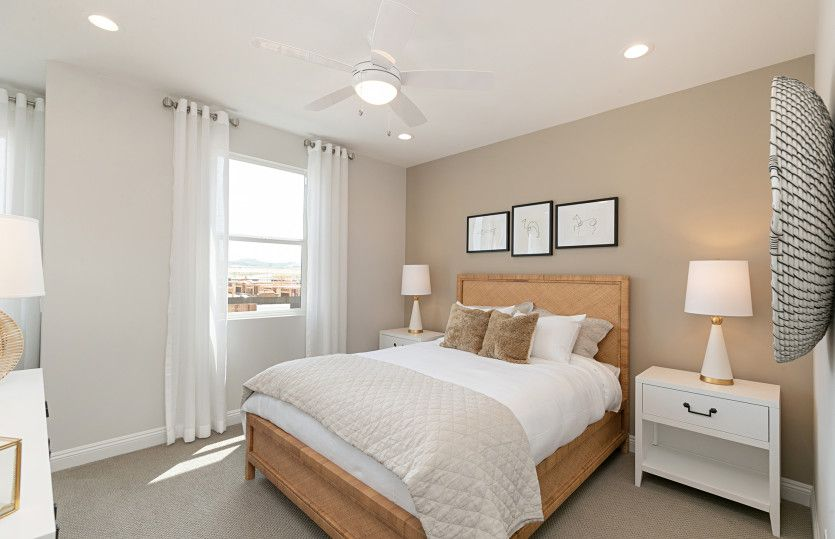 Bedroom featured in the Residence Two By Pulte Homes in Orange County, CA