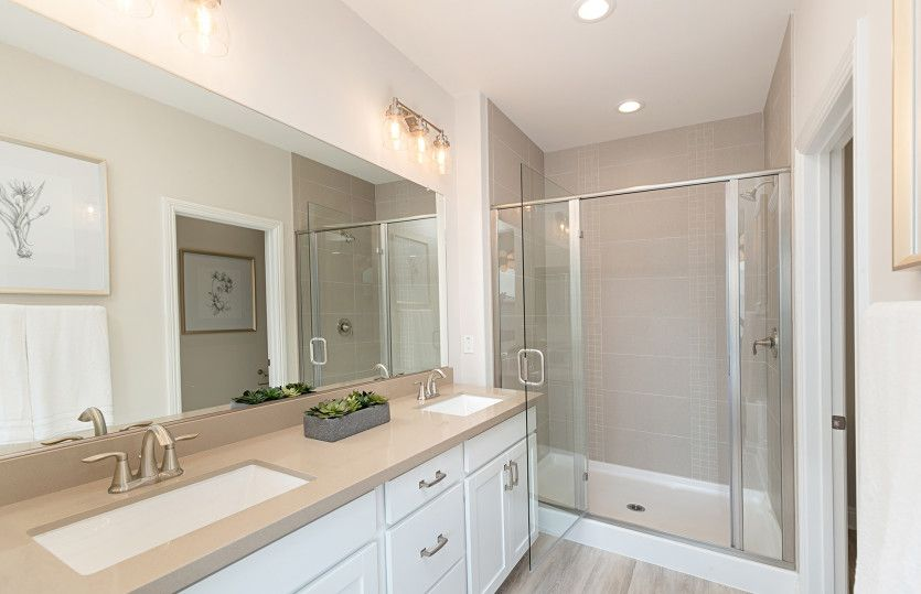 Bathroom featured in the Residence Two By Pulte Homes in Orange County, CA
