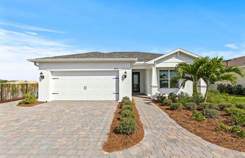 Exterior featured in the Mystique By Pulte Homes in Punta Gorda, FL