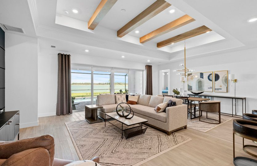 Living Area featured in the Stardom By Pulte Homes in Punta Gorda, FL