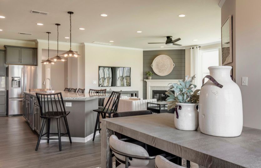Living Area featured in the Ascend By Pulte Homes in Louisville, KY
