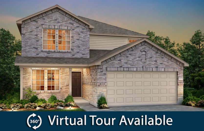 Exterior featured in the Mesilla By Pulte Homes in Dallas, TX