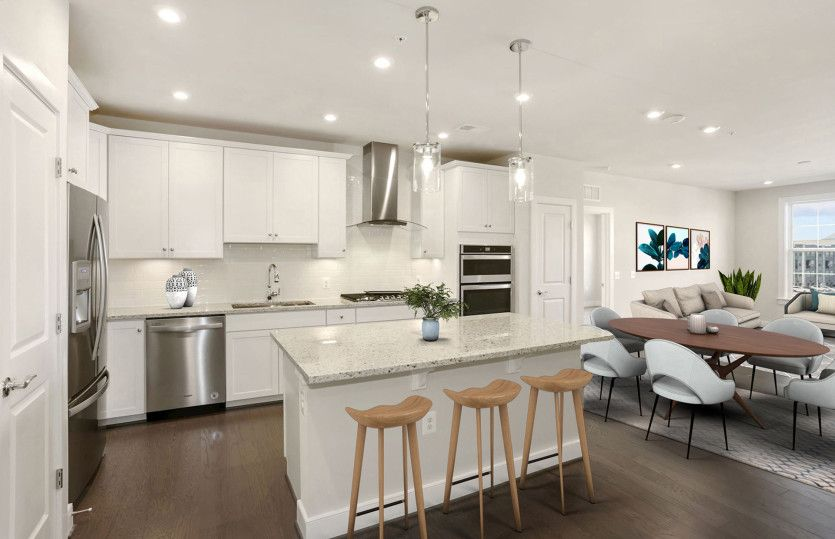 Kitchen featured in the Colton By Pulte Homes in Washington, MD