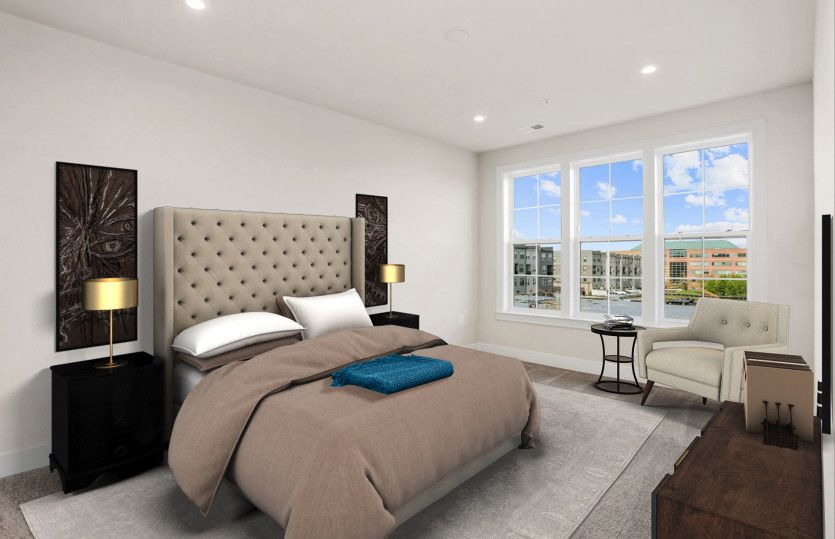Bedroom featured in the Colton By Pulte Homes in Washington, MD