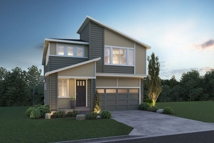 Exterior featured in the Andover By Pulte Homes in Seattle-Bellevue, WA