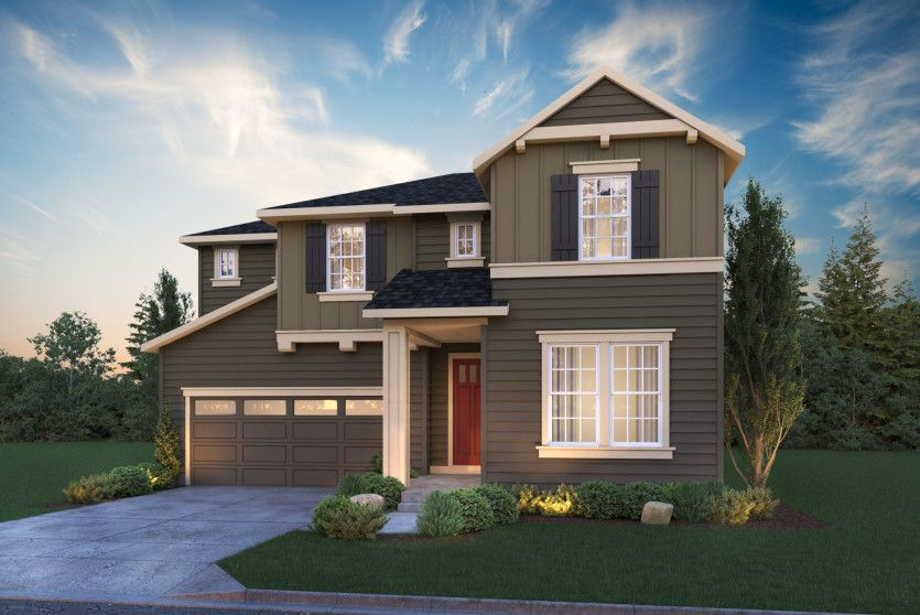 Exterior featured in the Quincy By Pulte Homes in Seattle-Bellevue, WA