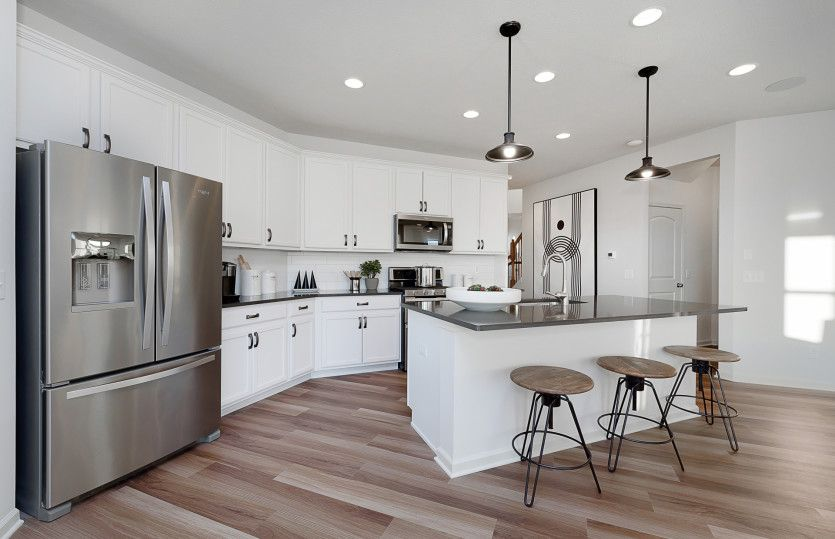 Kitchen featured in the Park Place By Pulte Homes in Indianapolis, IN