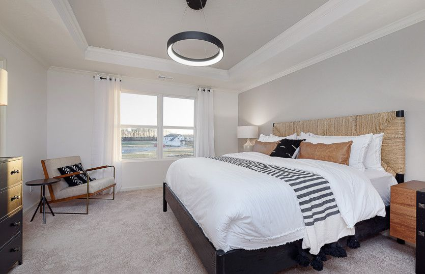 Bedroom featured in the Park Place By Pulte Homes in Indianapolis, IN