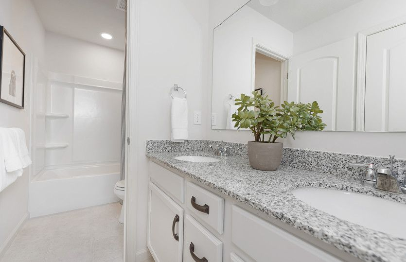 Bathroom featured in the Park Place By Pulte Homes in Indianapolis, IN