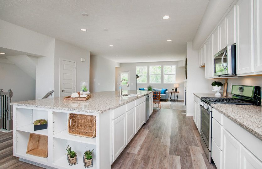 Kitchen featured in the Jetwood By Pulte Homes in Indianapolis, IN