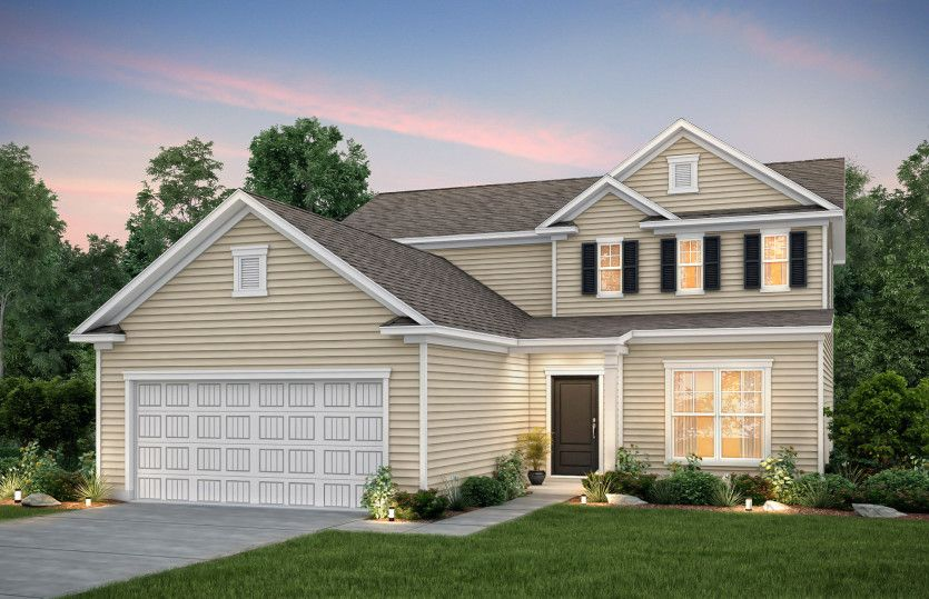 Exterior featured in the Hartwell By Pulte Homes in Hilton Head, SC