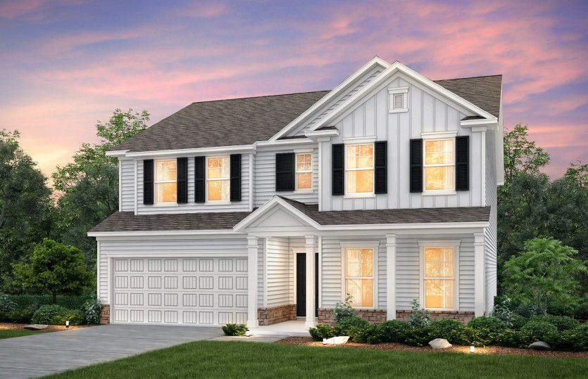 Exterior featured in the Mitchell By Pulte Homes in Hilton Head, SC