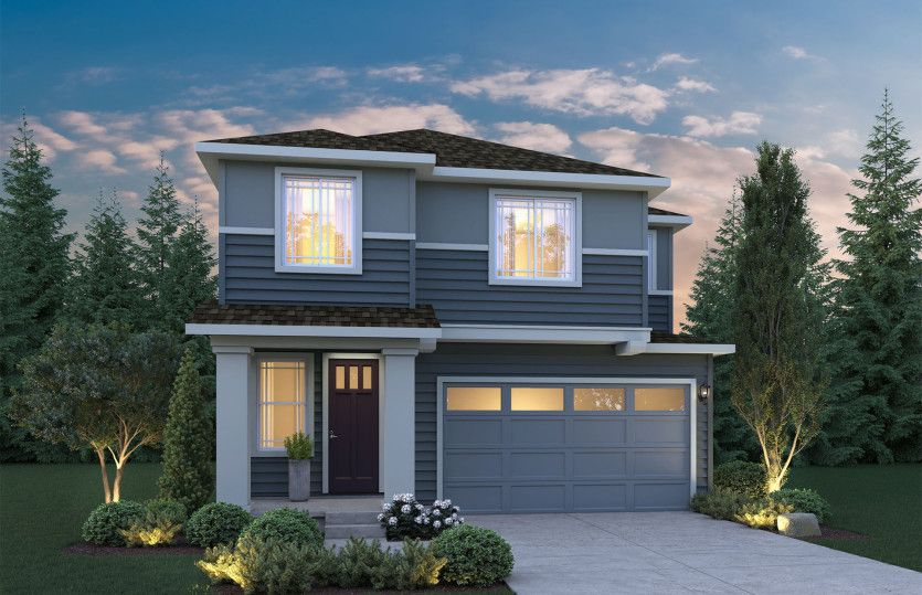 Exterior featured in the Holston II By Pulte Homes in Seattle-Bellevue, WA