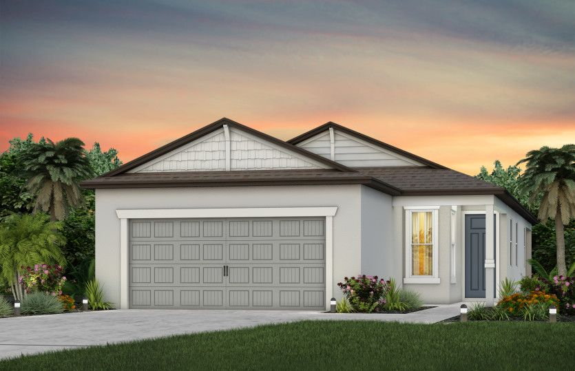 Exterior featured in the Drayton By Pulte Homes in Tampa-St. Petersburg, FL