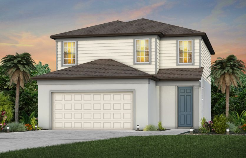 Exterior featured in the Henley By Pulte Homes in Tampa-St. Petersburg, FL