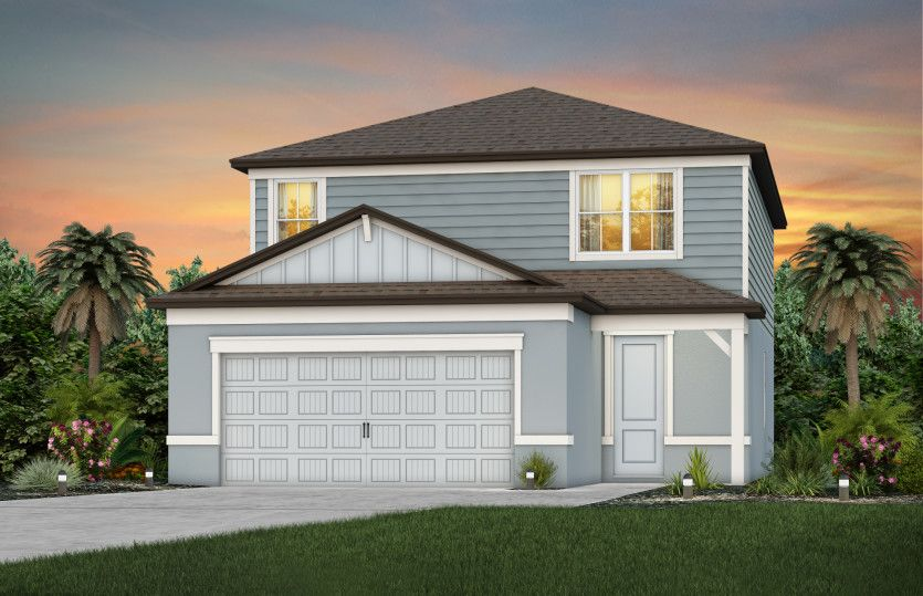 Exterior featured in the Morris By Pulte Homes in Tampa-St. Petersburg, FL