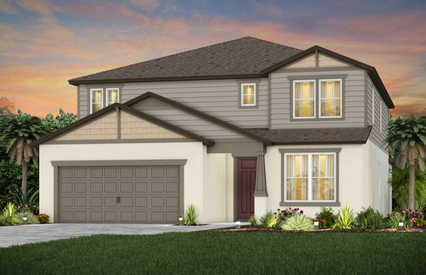 Exterior featured in the Yorkshire By Pulte Homes in Tampa-St. Petersburg, FL