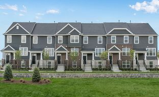 Townes at Mill Street by Pulte Homes in Detroit Michigan