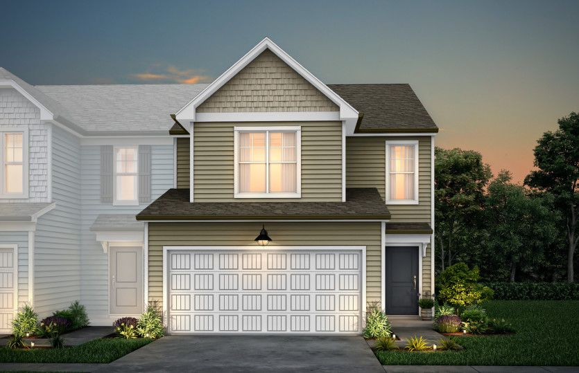 Exterior featured in the Hayden By Pulte Homes in Raleigh-Durham-Chapel Hill, NC