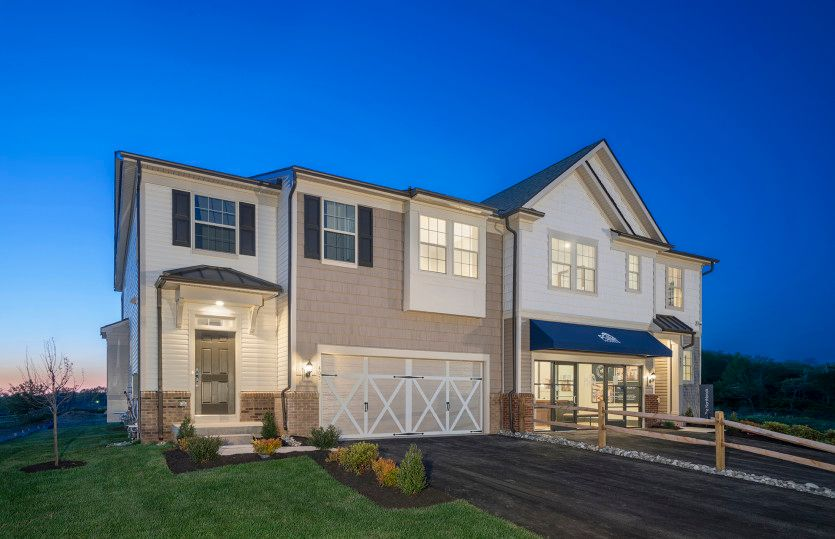 Exterior featured in the Fairfax By Pulte Homes in Philadelphia, PA