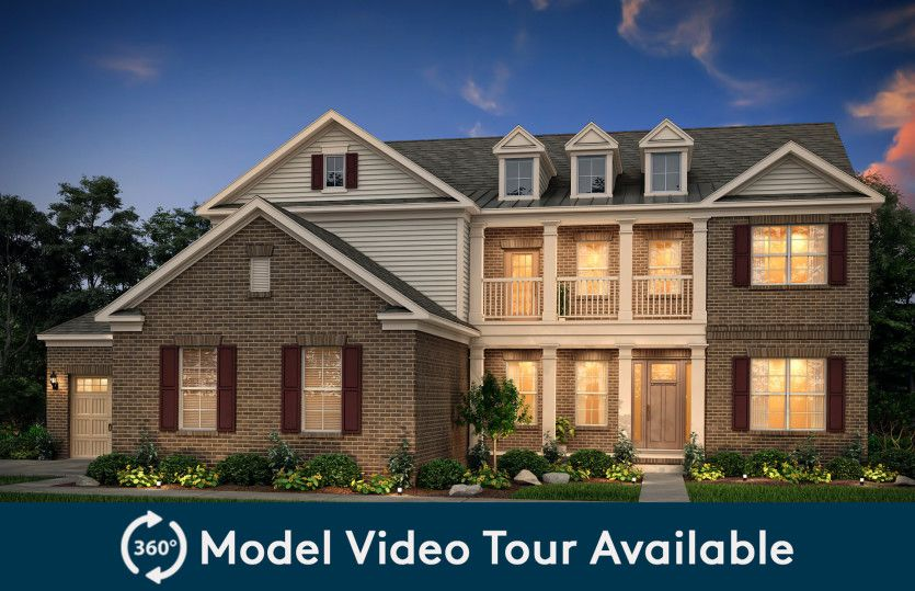 Exterior featured in the Stonegate By Pulte Homes in Nashville, TN