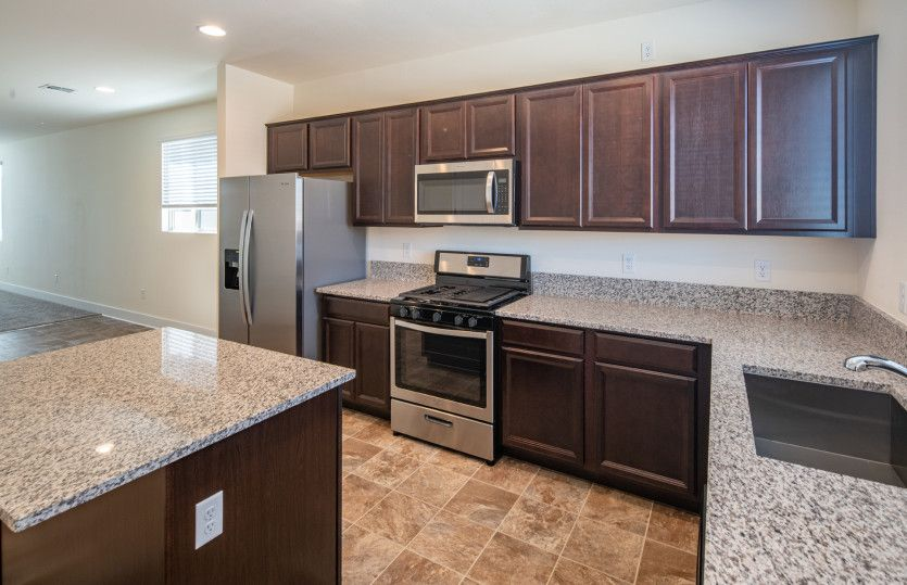 Kitchen featured in the Becket By Pulte Homes in Las Vegas, NV