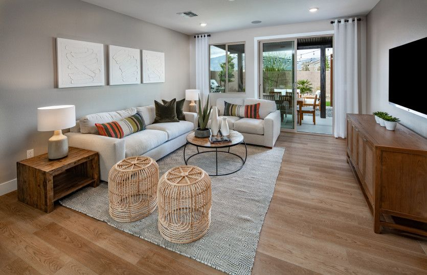 Living Area featured in the Hewitt By Pulte Homes in Las Vegas, NV