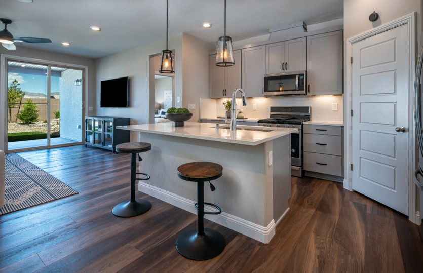 Kitchen featured in the Saffron By Pulte Homes in Las Vegas, NV