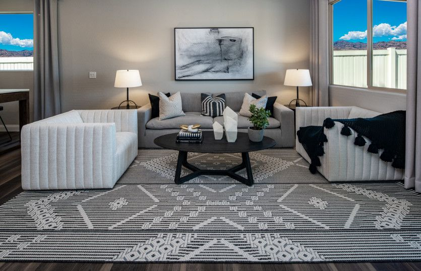 Living Area featured in the Saffron By Pulte Homes in Las Vegas, NV