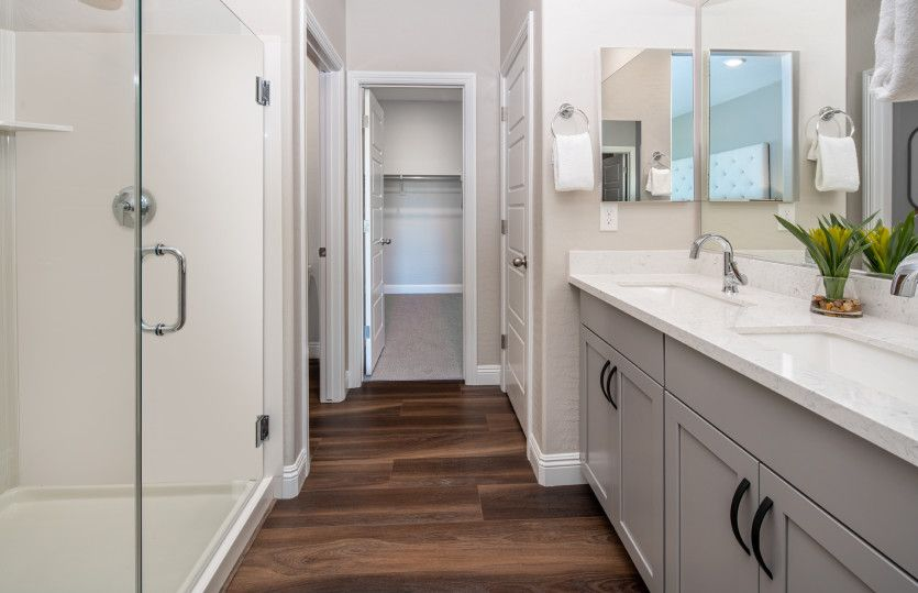 Bathroom featured in the Saffron By Pulte Homes in Las Vegas, NV