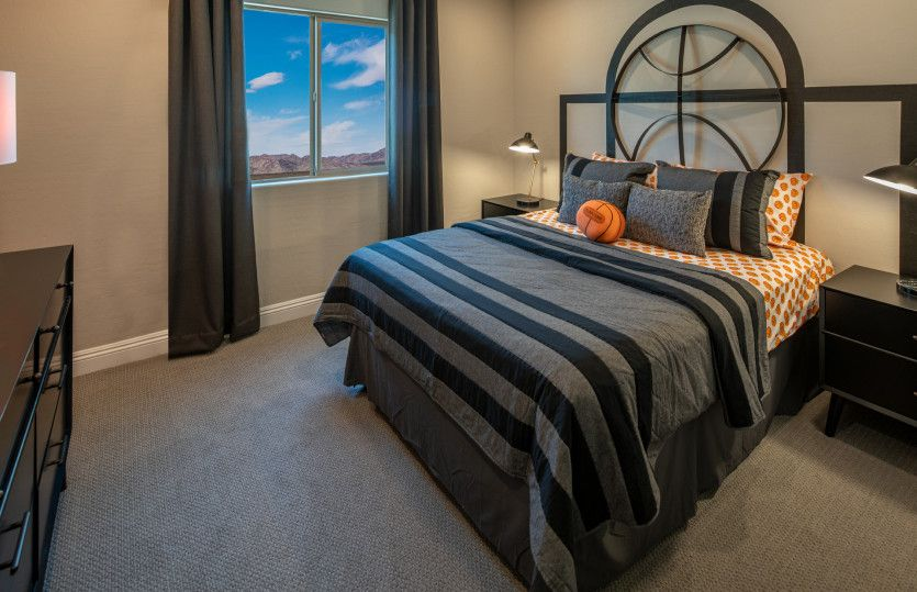 Bedroom featured in the Saffron By Pulte Homes in Las Vegas, NV