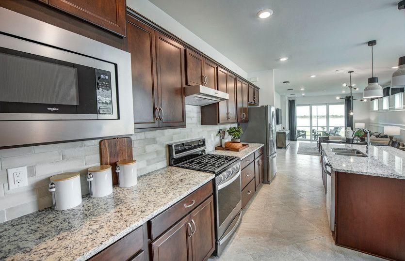 Kitchen featured in the Hallmark By Pulte Homes in Punta Gorda, FL