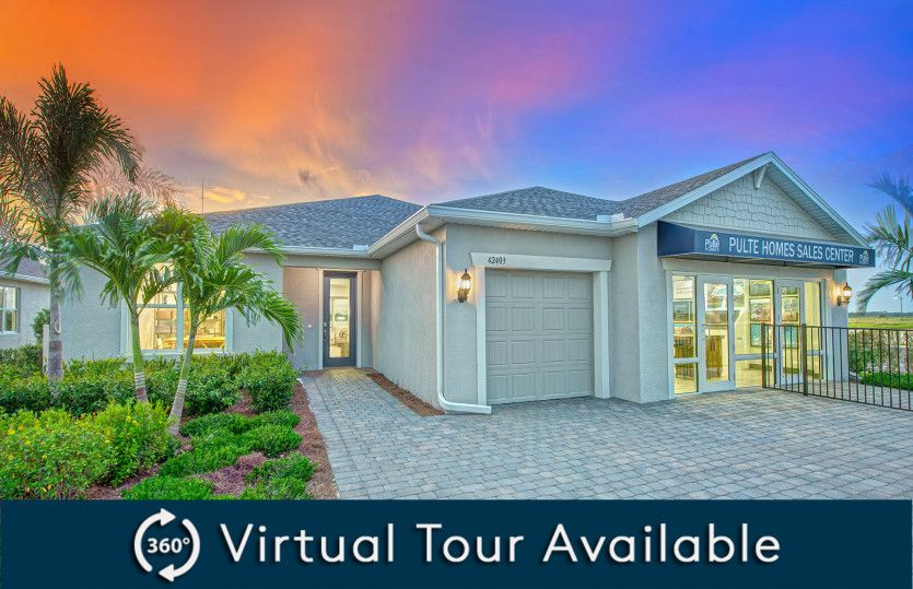 Exterior featured in the Stardom By Pulte Homes in Punta Gorda, FL