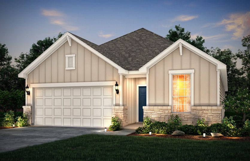 Exterior featured in the Fox Hollow By Pulte Homes in Austin, TX