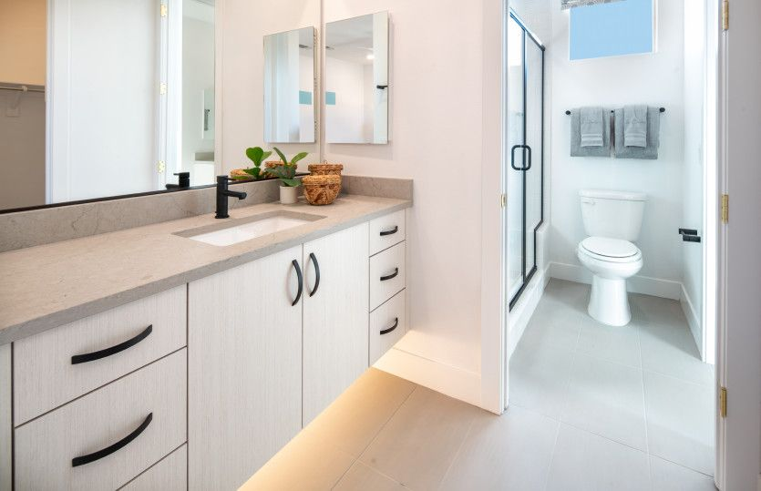 Bathroom featured in the Willowbrook By Pulte Homes in Las Vegas, NV