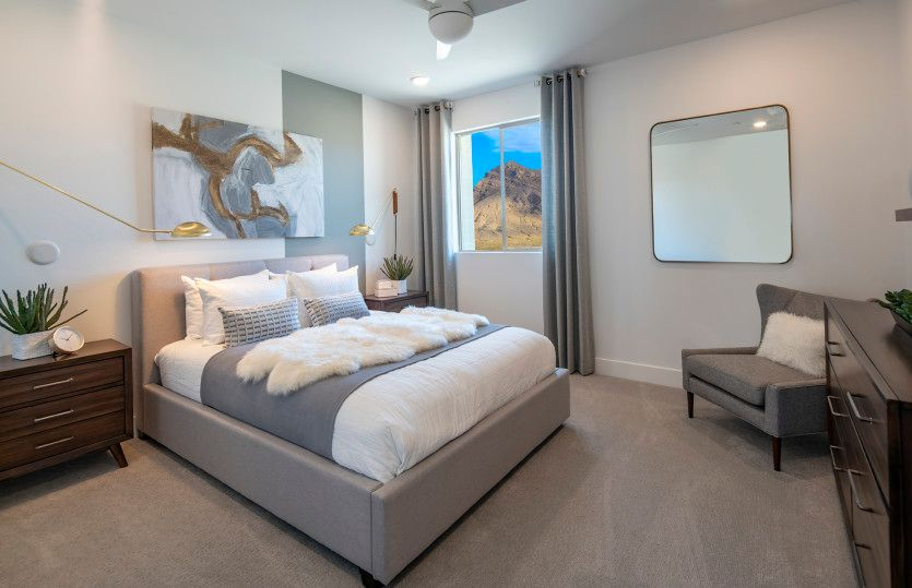 Bedroom featured in the Willowbrook By Pulte Homes in Las Vegas, NV