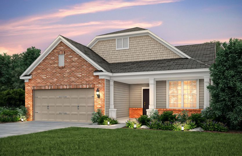 Exterior featured in the Martin Ray By Pulte Homes in Columbus, OH
